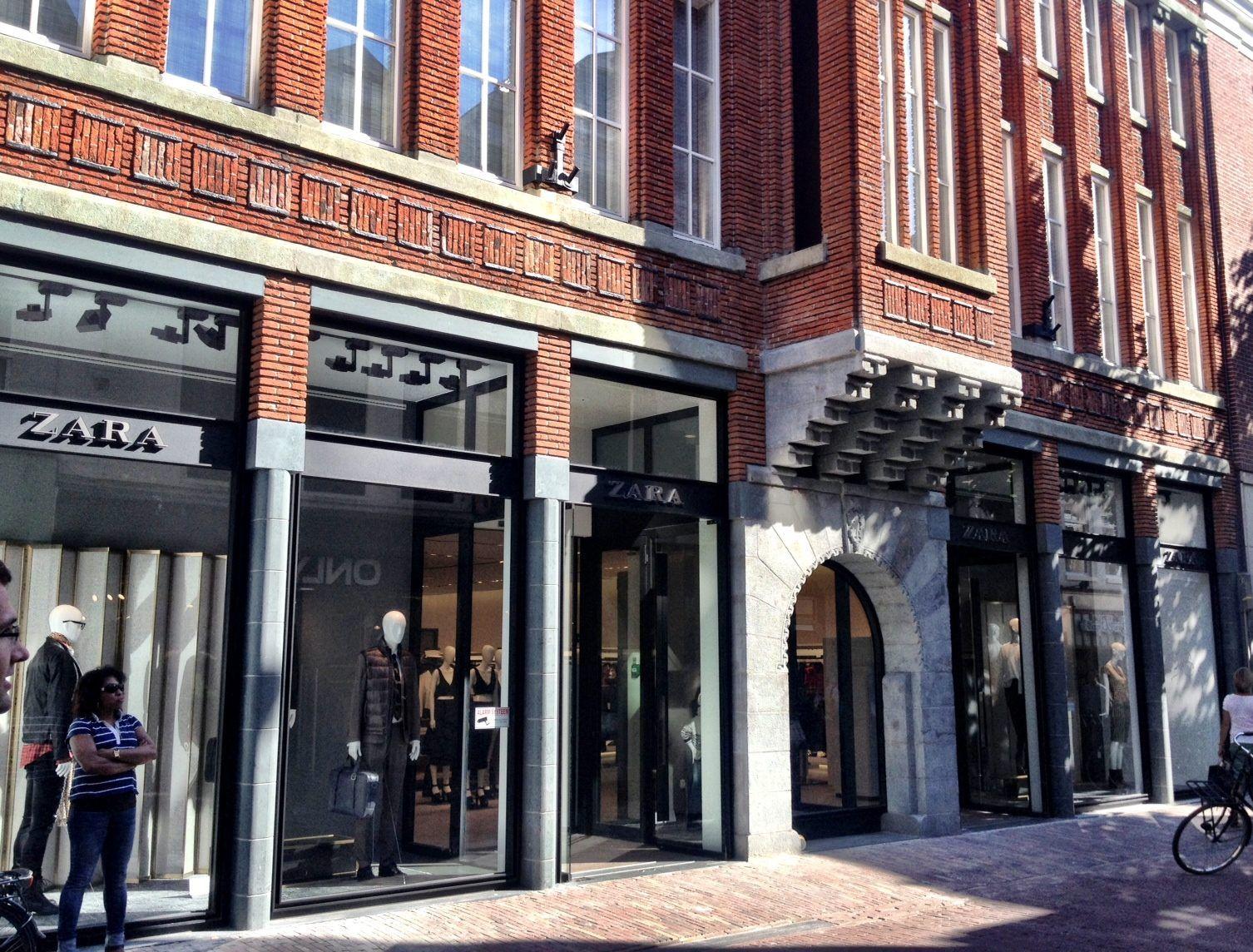 Zara Haarlem Httpwwwbureaubenonlnlprojectenutiliteit Winkels