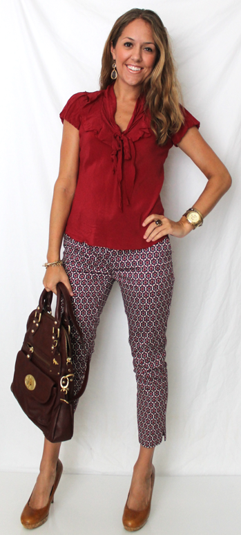 J's Everyday Fashion: Today's Everyday Fashion: Ankle Pants