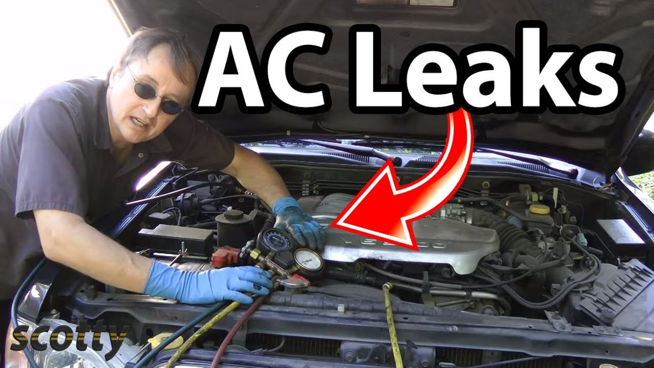 How to find ac leaks in your car ac hose replacement