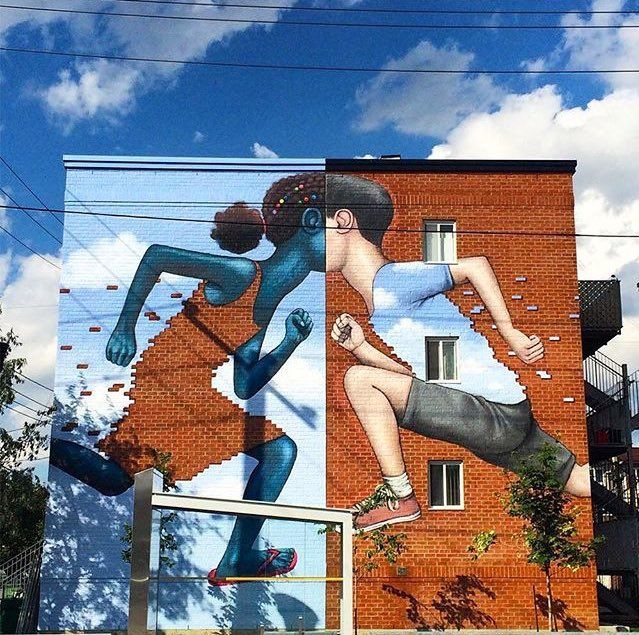 Street Art from Seth Globepainter in Montreal