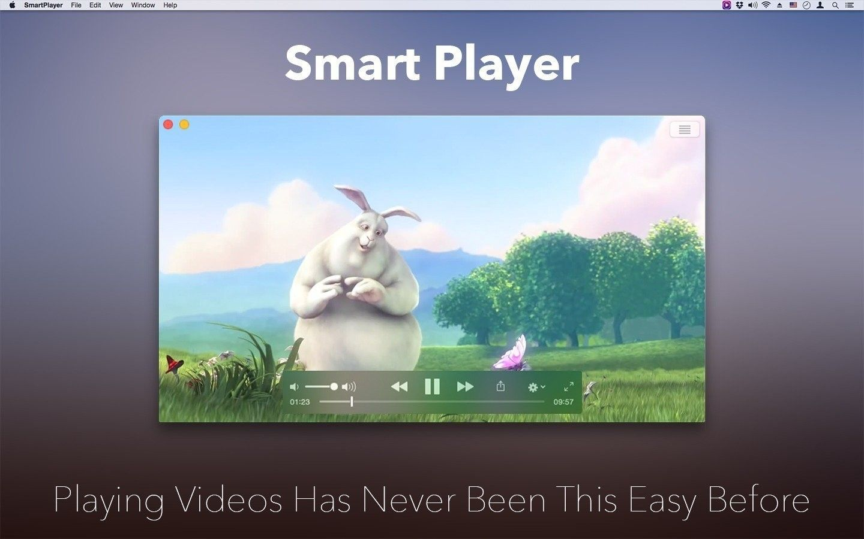 SmartPlayer 1.7 for Mac 破解版 很好用的媒体播放器 海量