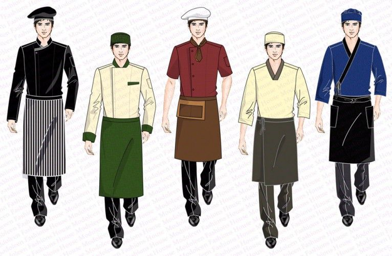 Kitchen chef uniform design singapore uniforms for Hotel design jersey