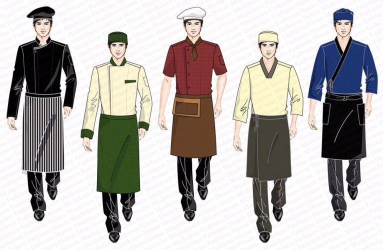Kitchen chef uniform design uniform design waiter for Hotel design jersey