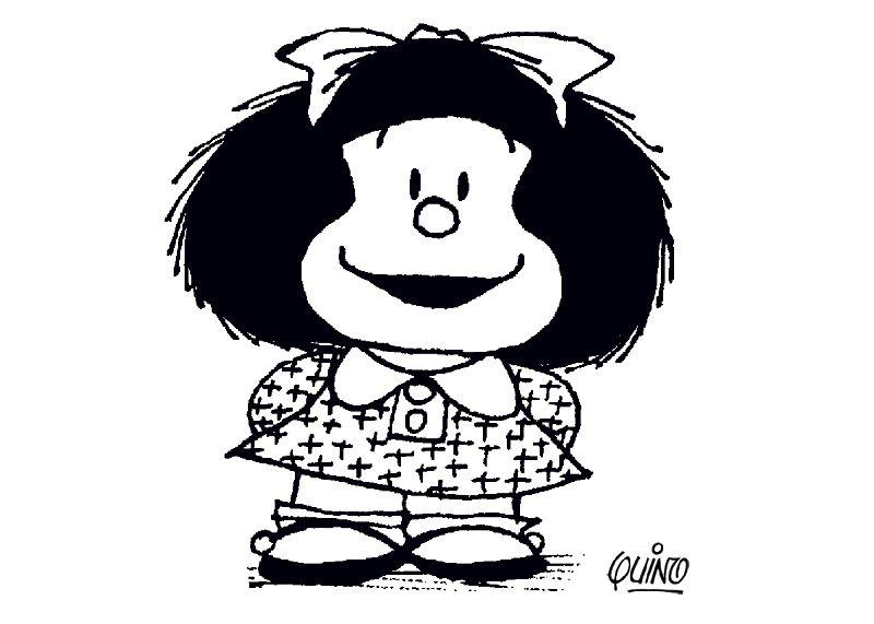 Dibujos para Colorear Mafalda 2 | Dibujos para colorear para niños ...
