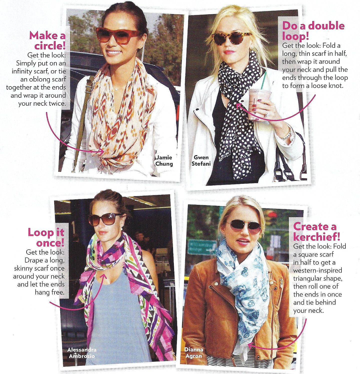 Dollie Enterprises » Blog Archive » How To Tie a Scarf ...