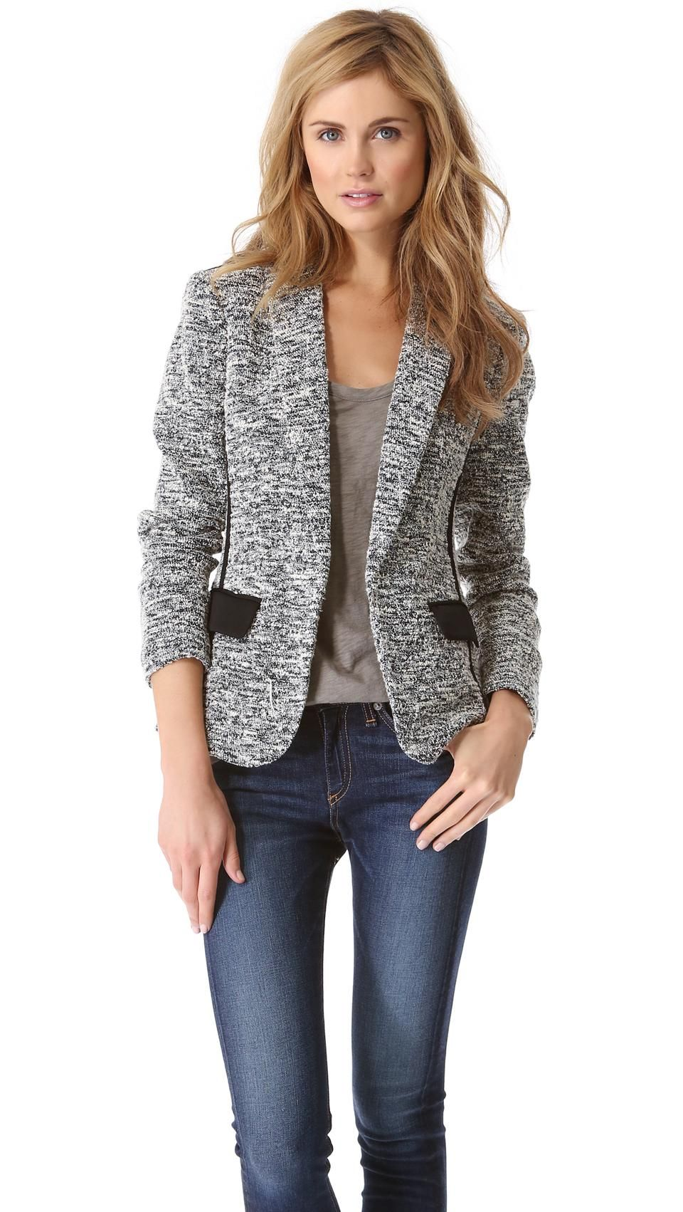 Rag And Bone Aviator Blazer | Womens Blazer | Womenswear | Womens Style | Womens Fashion ...