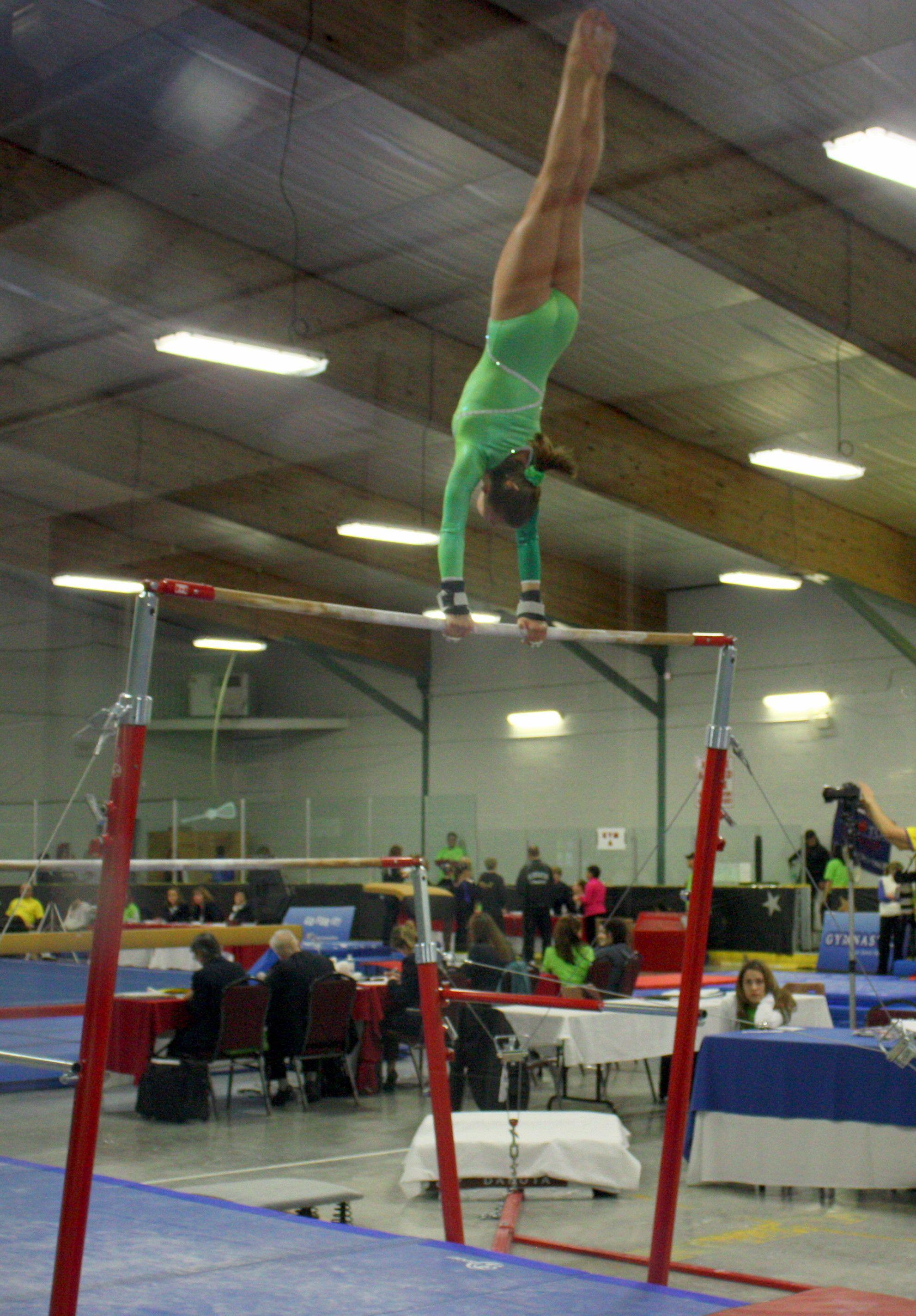 Giant on Bars Gymnastics, Basketball court, Gym