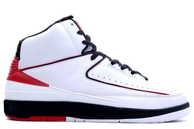 Air Jordan 2 Retro White / Black / Red
