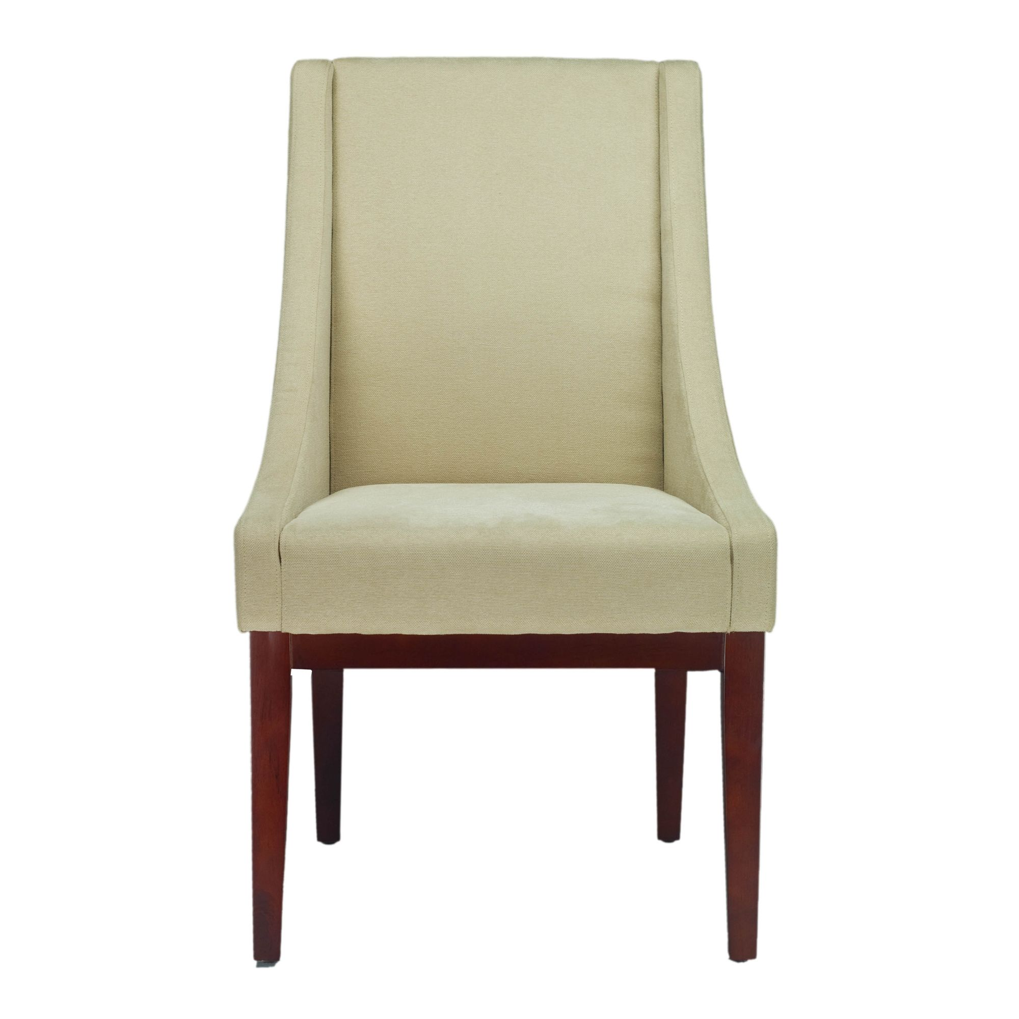Safavieh en vogue dining soho creme arm chair linen by safavieh