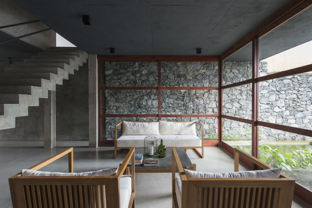 A Linear Sri Lankan Home At e With Nature IGNANT