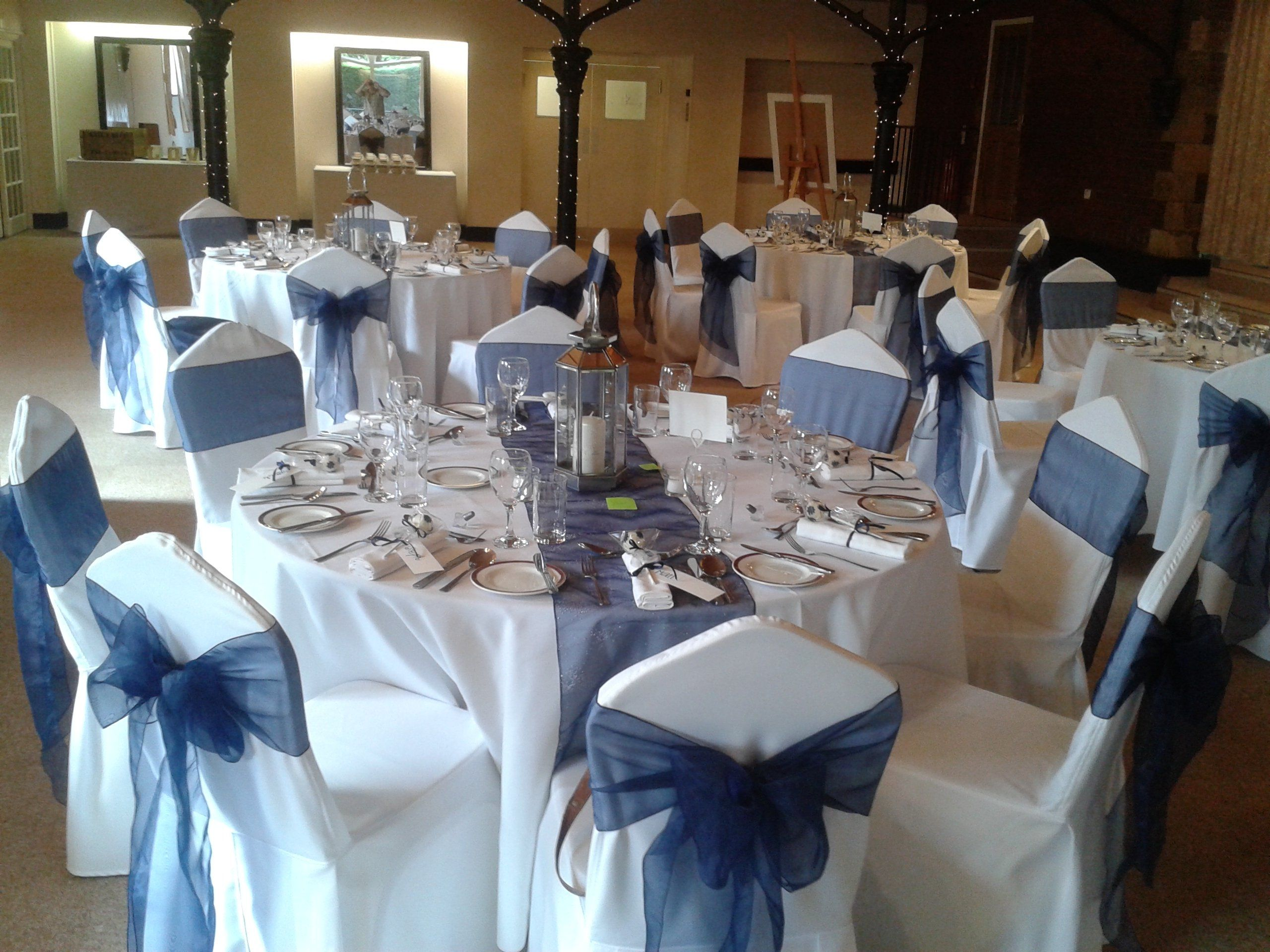 Navy Blue And Pink Wedding Table Decorations Wedding