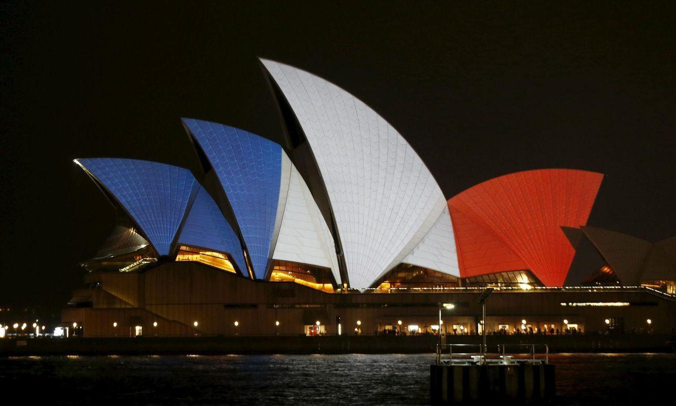 australie france hommage