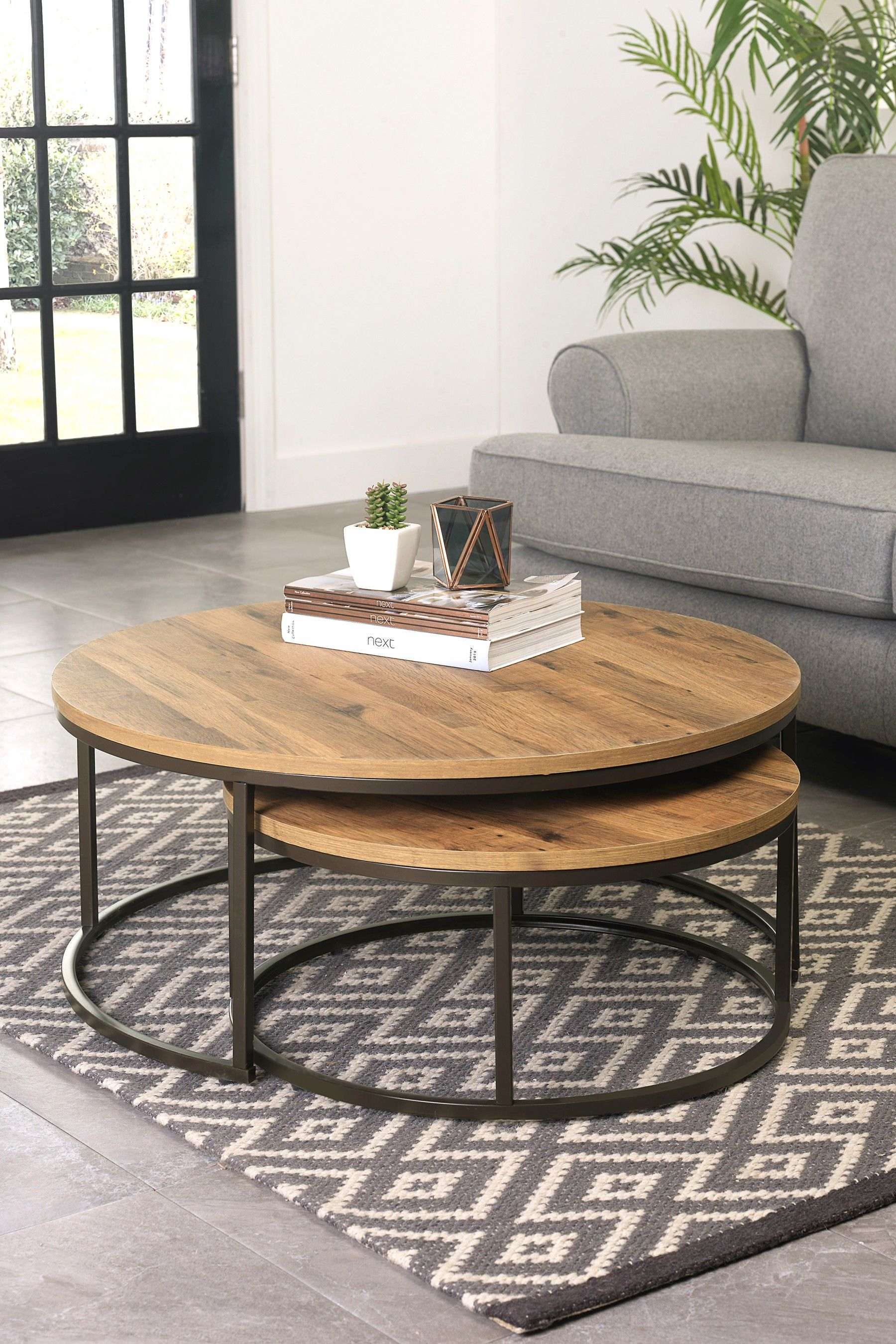 Best Buy Bronx Round Coffee Nest Of Tables From The Next Uk 640 x 480