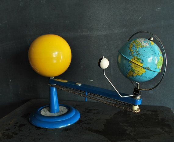 which model best shows the relationship between earth moon and sun