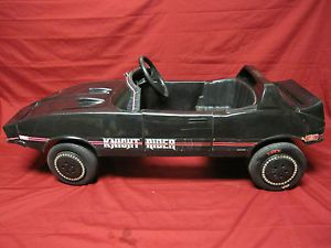 vintage 1982 knight rider pedal car vintage pedal car ride on toy