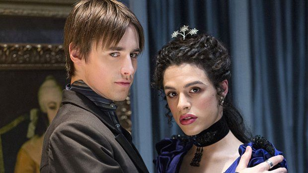 Reeve Carney as Dorian Gray and Jonny Beauchamp as Angelique in Penny Dreadful (season 2, episode 6). - Photo: Jonathan Hession/SHOWTIME