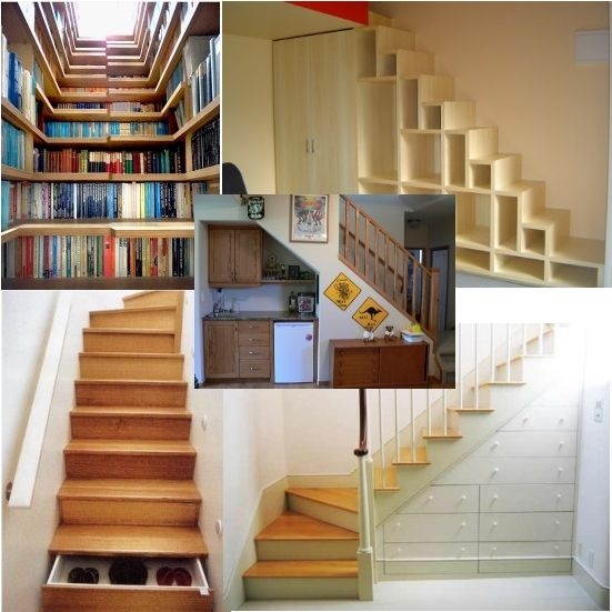 staircase designs for small under stair design space utilization - Small Space Design Ideas
