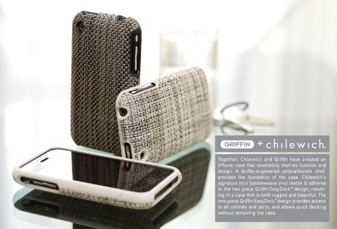 Tweed Phone cases by Chilewich & Griffin