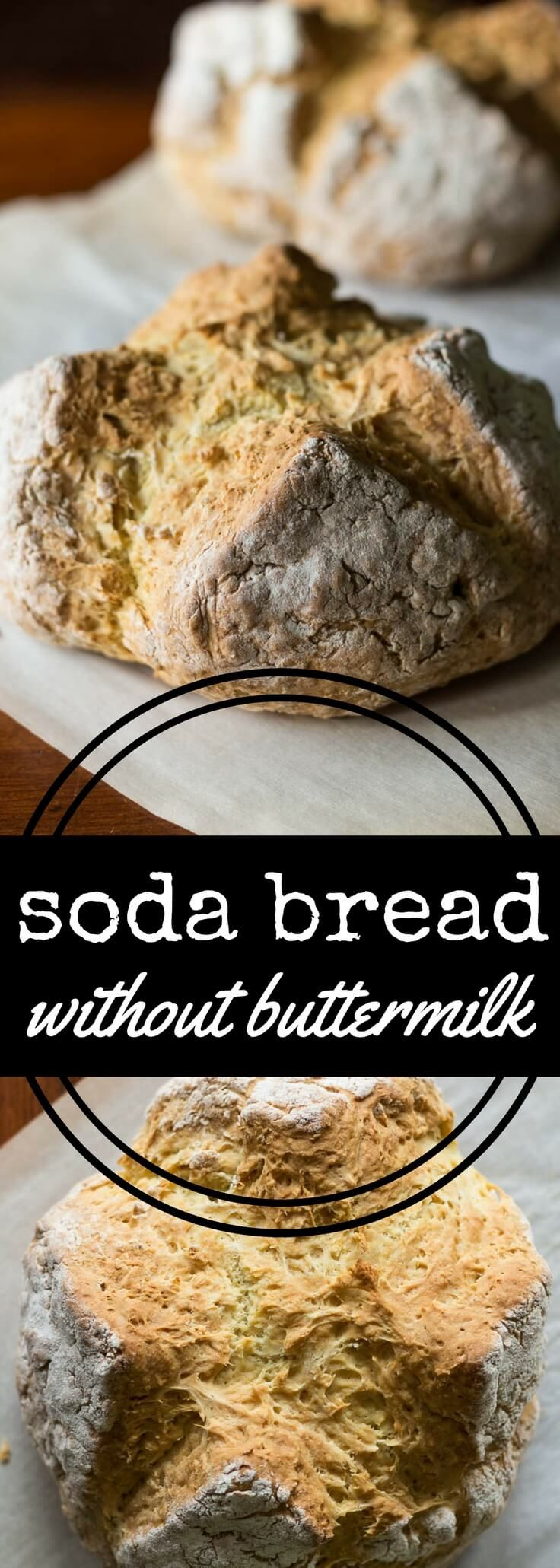 Soda Bread Without Buttermilk Recipe Soda Bread Without Buttermilk Soda Bread Vegan Soda