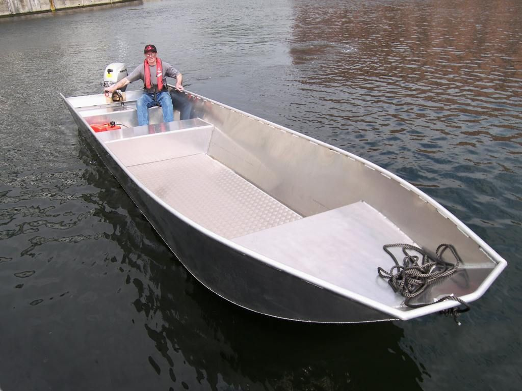 aluminium push boat - Google zoeken | Boats | Boat building, Duck boat, Boat