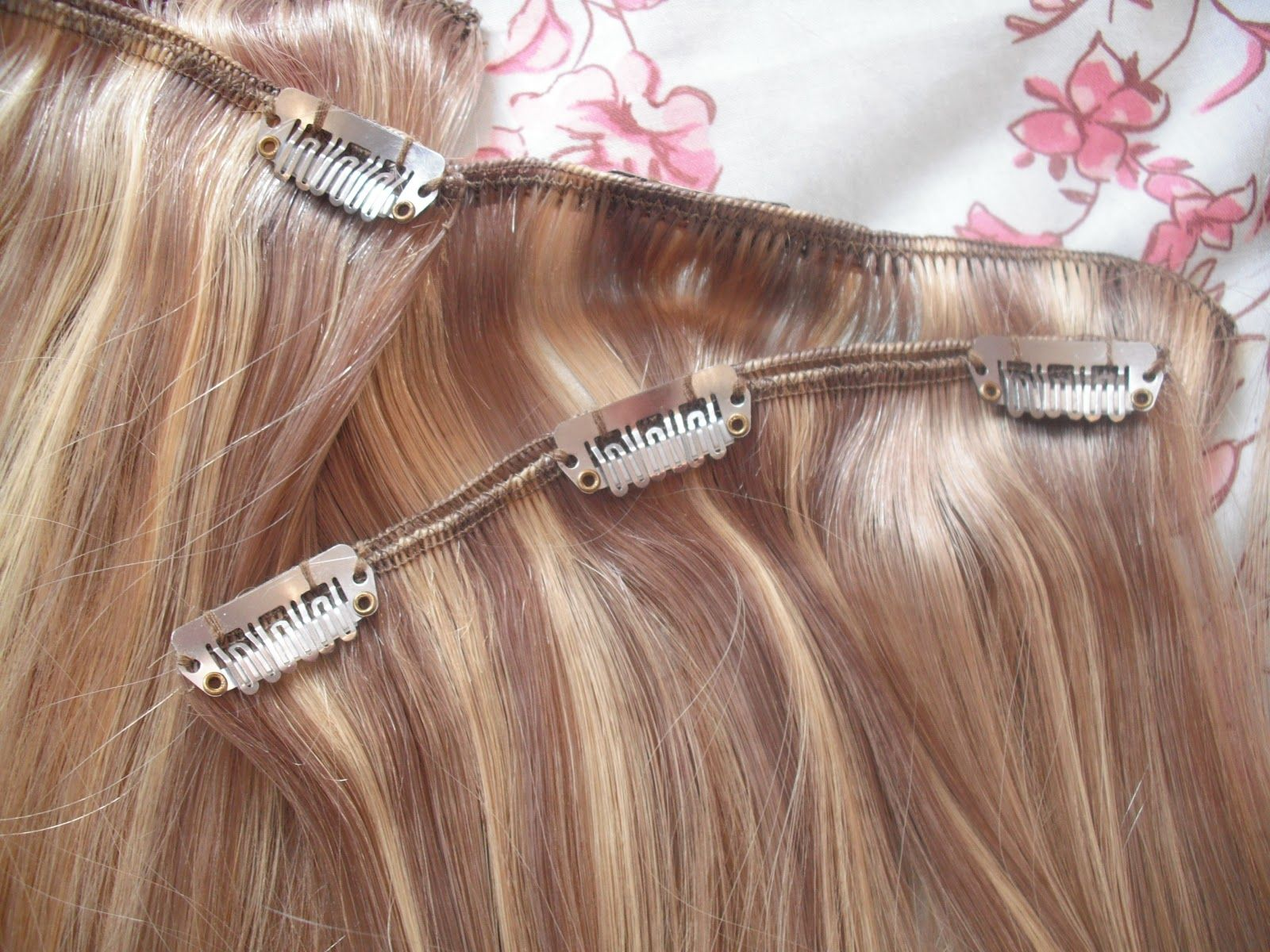 hair extension with and without clip | lux wedding dresses