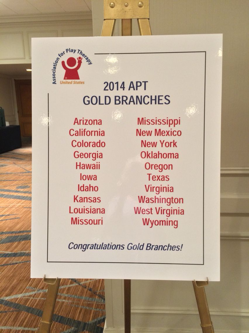 2014 Gold Branches 2014 APT Conference West virginia