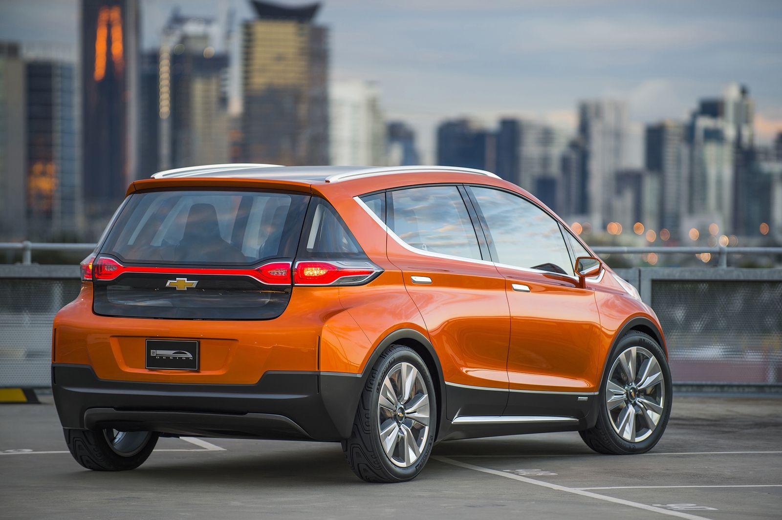 Chevrolet Reveals All Electric Bolt Ev Concept Car Chevrolet