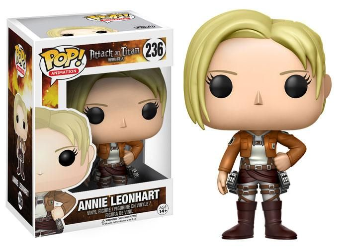 Pop Anime 236 Attack On Titan Annie Leonhart Funko Pop Anime