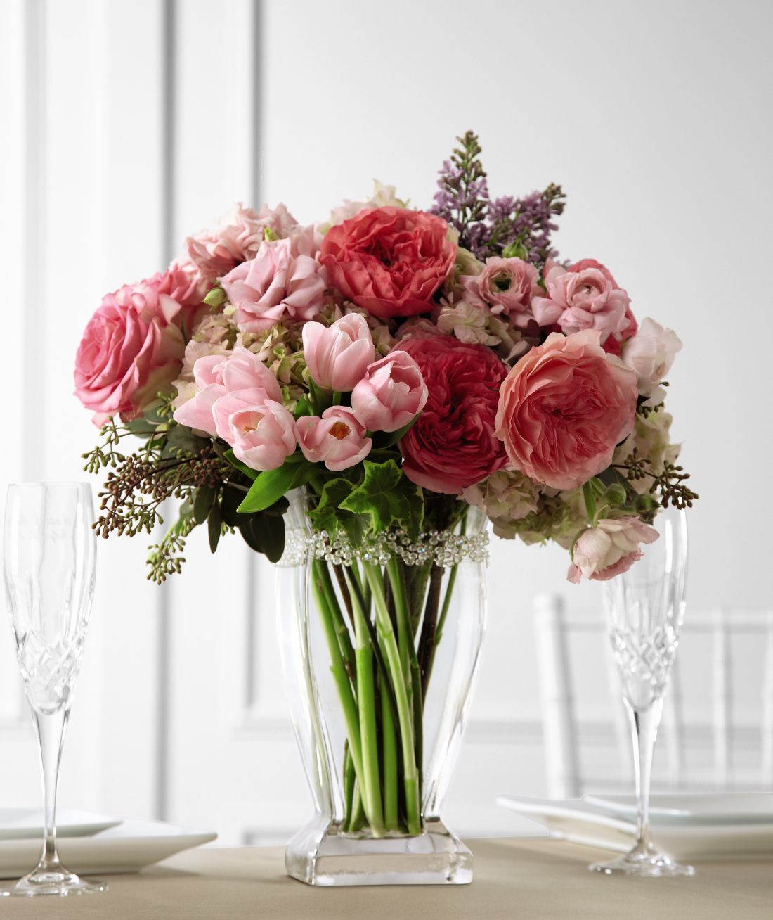 The FTD® Abundant Array™ Arrangement is full of romantic intrigue ...