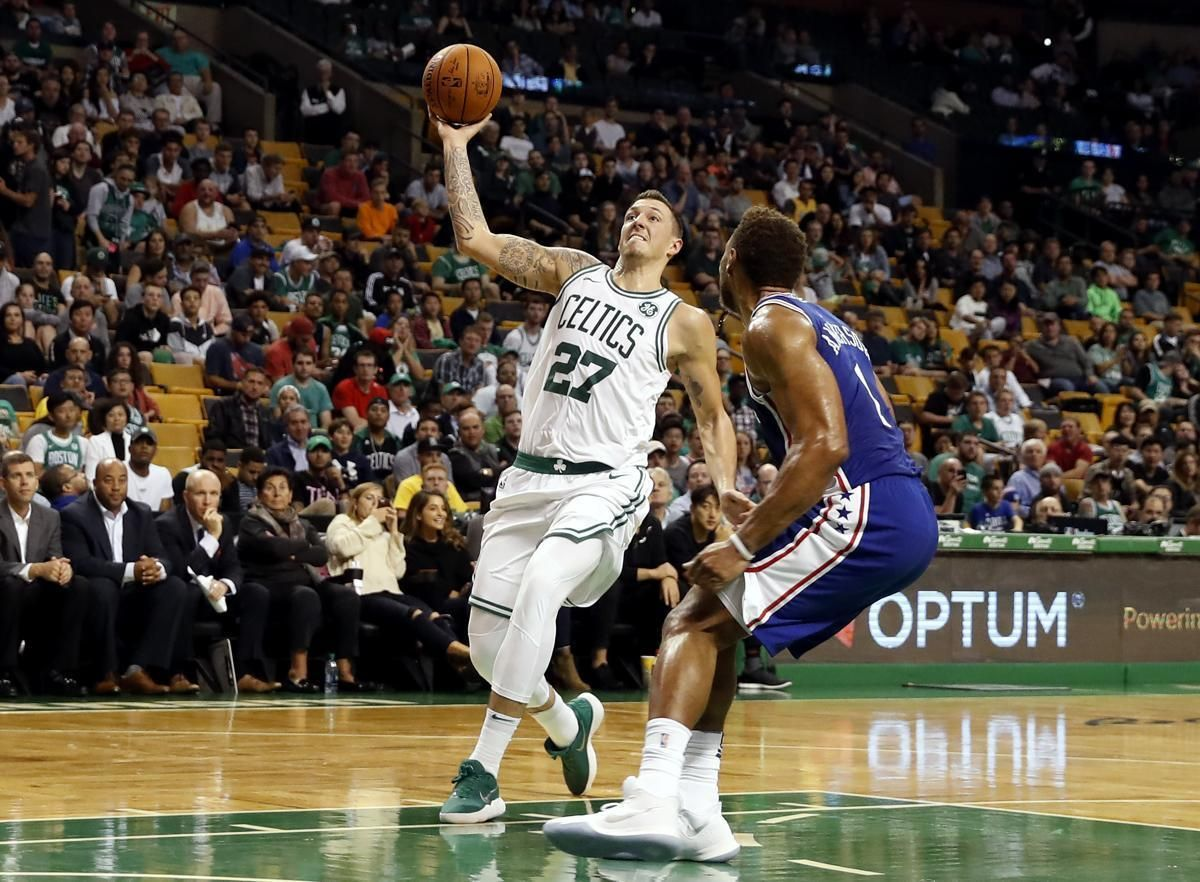 Celtics' Daniel Theis making a smooth transition to the