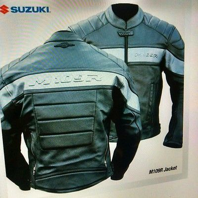 Suzuki Boulevard Leather Motorcycle Jacket Limited Edition
