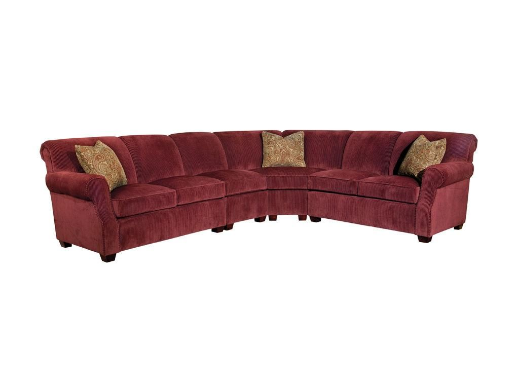 Living Room Furniture Hickory Nc kincaid furniture living room lynchburg sectional 814-sect