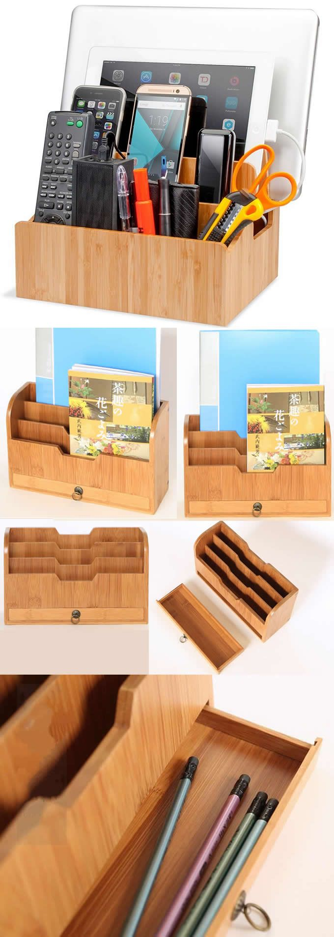 Bamboo Wooden Cell Phone iPad iPhone Stand