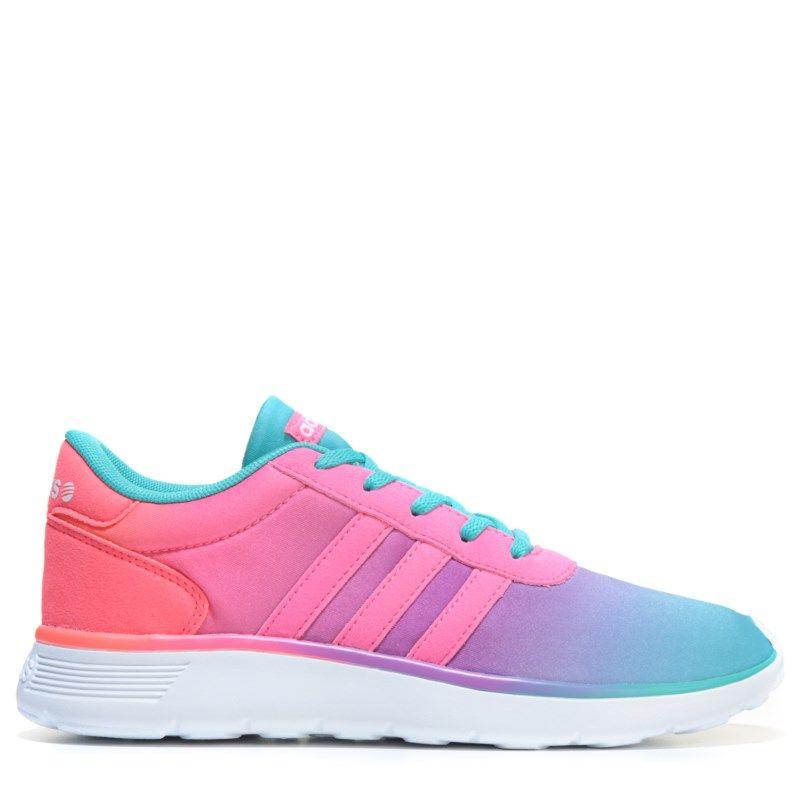 Adidas Kids' Lite Racer K corriendo zapatos pre / Grade School zapatos (Multi