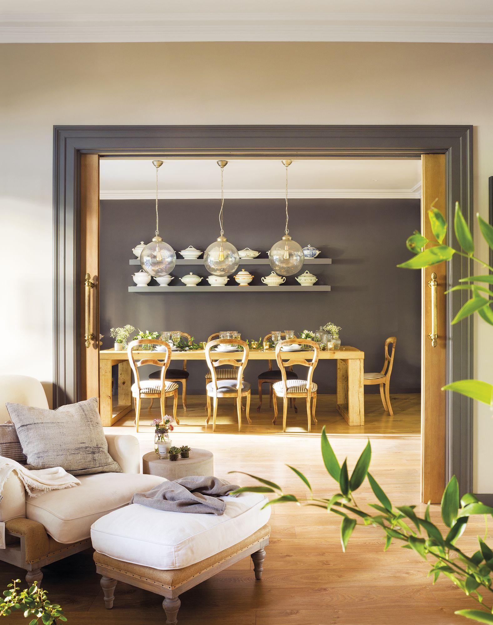 Recuperar y reinterpretar en 2019 comedores pinterest for Que color de pared con una cocina gris