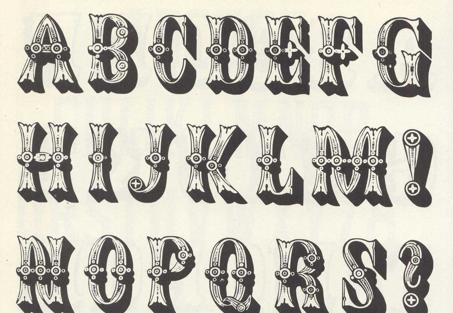 wood type fonts