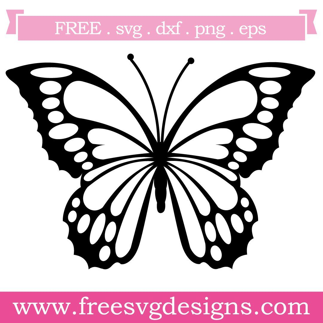 Free Butterfly Silhouette Vector Pack Silhouette Vector Silhouette Clip Art Butterflies Vector