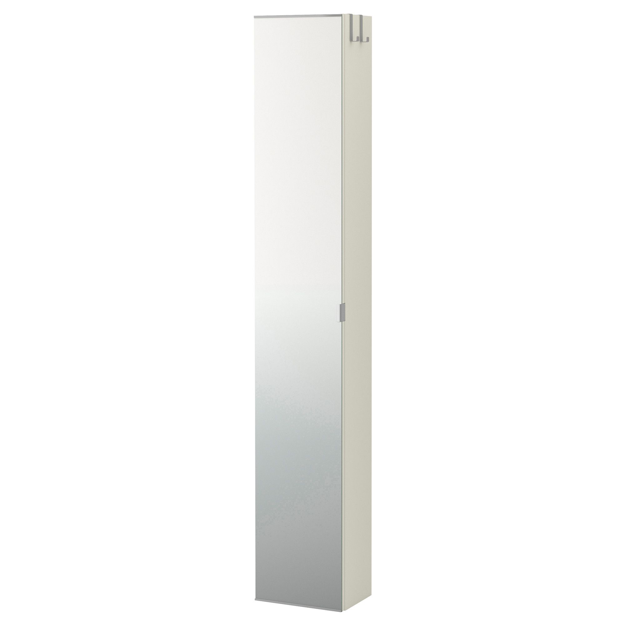ikea lillngen mirror cabinet white perfect where space is limited since the