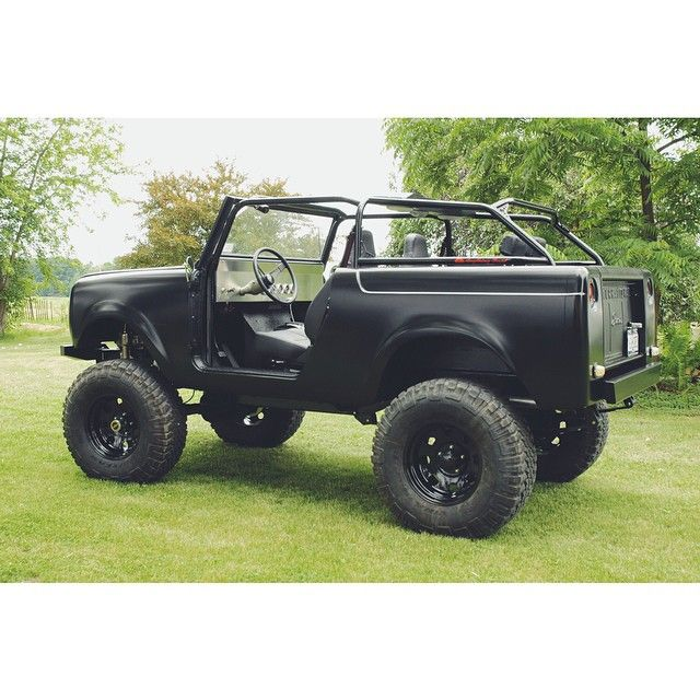 Project 39 rockstar 39 international scout 800 oooo jeep scout international harvester truck et - Moissonneuse cars ...