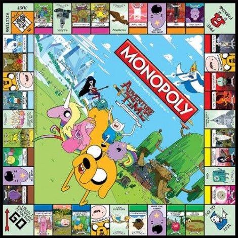 Adventure Time Monopoly Lets You Own The Land of Ooo. Save 25