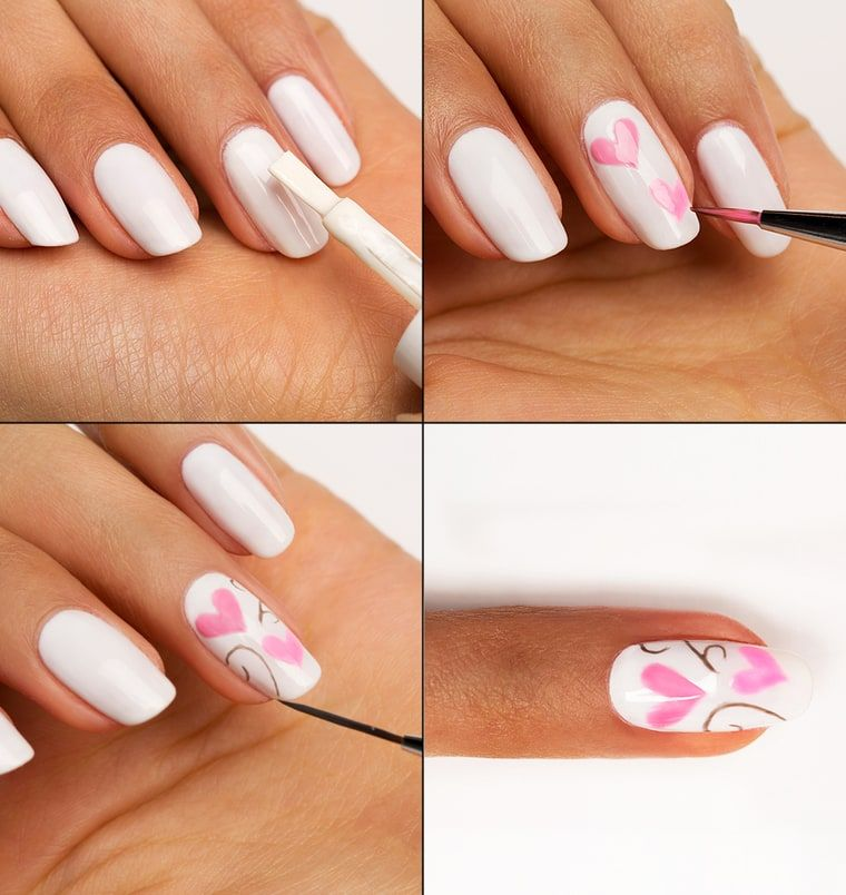 Valentine's Day is right around the corner, and we have the nail art you'll want to try; get photos and step-by-step guides here!