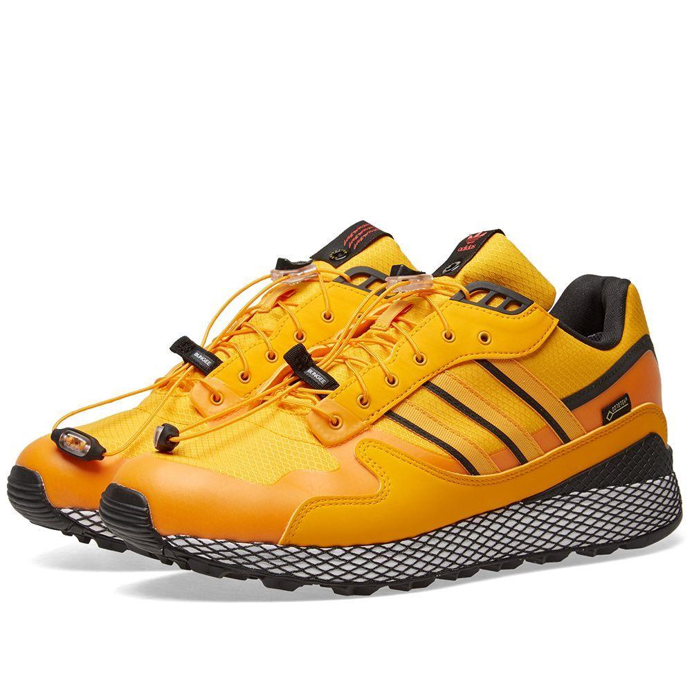 Adidas x Livestock Ultra Tech Gore Tex Yellow & Core Black