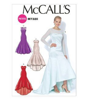 Mccall S Misses Special Occasion M7320 Formal Dress Patterns