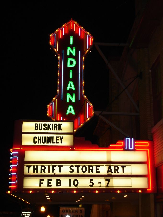 ridecolorfully to the Buskirk Chumley theatre for the latest