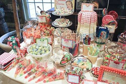 Remarkable Retro Candy Buffet Did A Version For My Wedding Things I Complete Home Design Collection Barbaintelli Responsecom