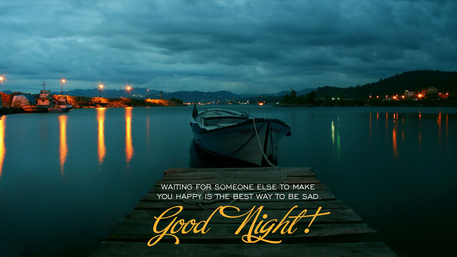 Good night hd wallpaper for pc
