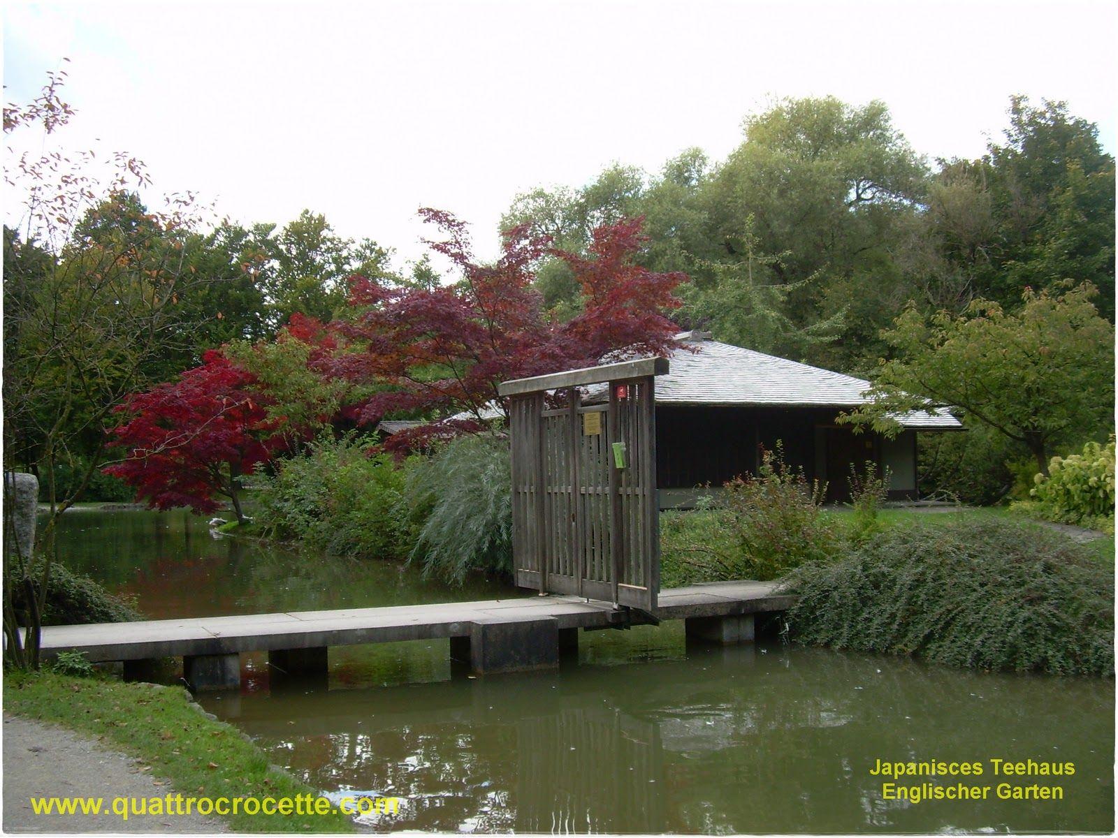 Munchen - Japanisces Teehaus (Englischer Garten)