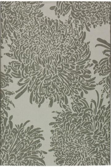 Martha Stewart Living™ Chrysanthemum All Weather Rug   Martha Stewart  Living™ Rugs   Outdoor