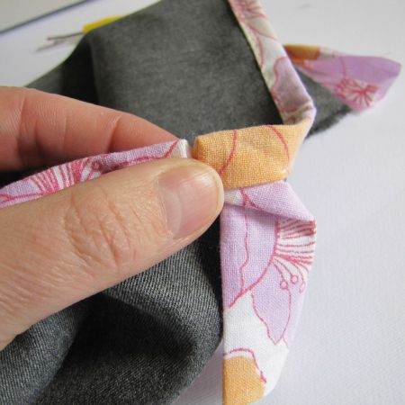 The Haby Goddess: Sewing Tutorial: Finishing off your bias binding.