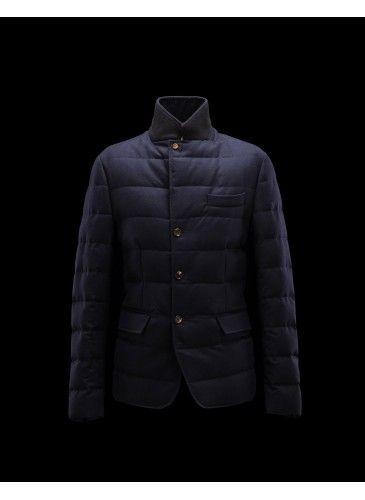 Moncler Rodin Jacket Men Blue - Moncler #Moncler #men #backtoschool #FW15